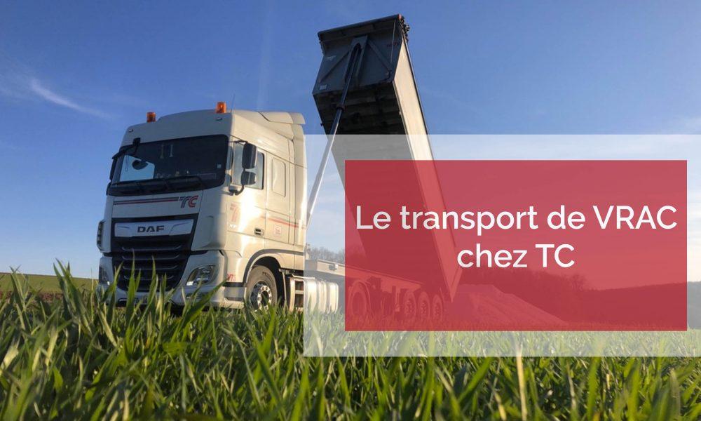Visuel actualité Le transport de vrac chez TC