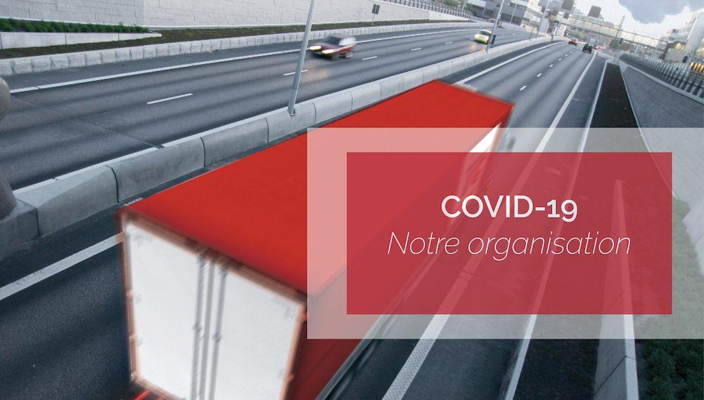 Visuel actualité COVID-19 – Notre organisation