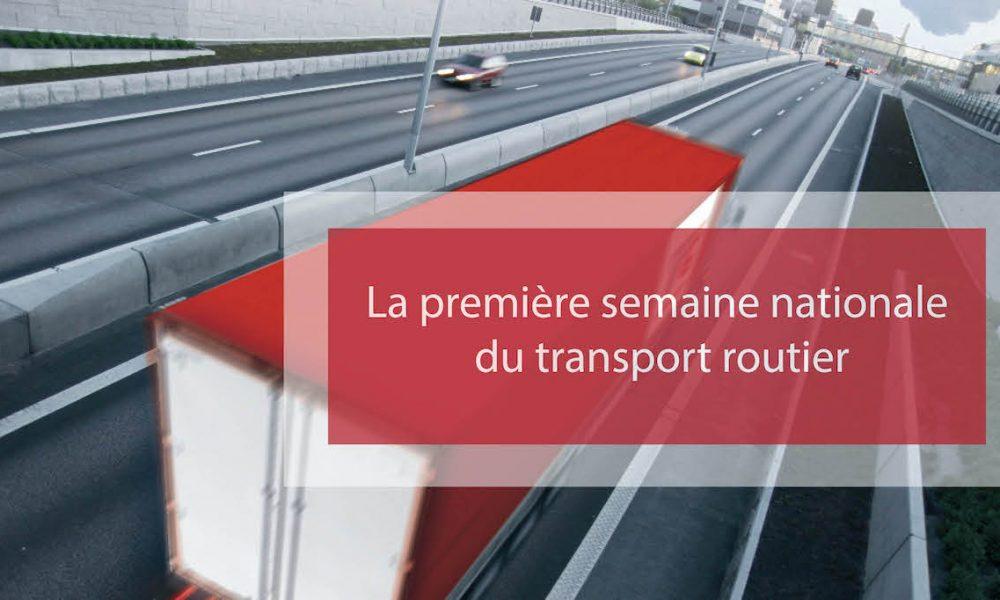 Visuel actualité La première semaine nationale du transport routier