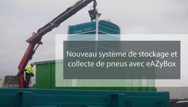 Visuel actualité Nouveau système de stockage et collecte de pneus avec eAZyBox