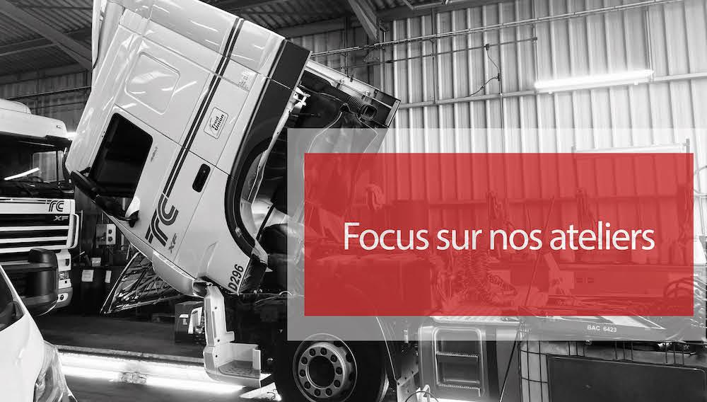 Visuel actualité Focus sur nos ateliers de maintenance