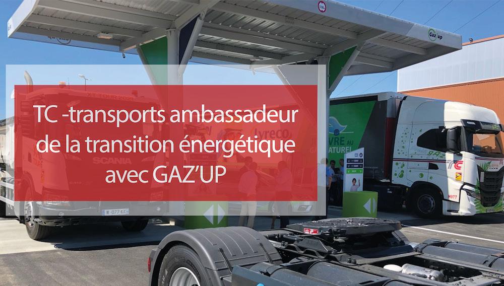 Visuel actualité TC ambassadeur de la transition énergétique avec GAZ'UP